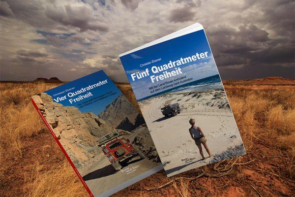 Gewinne mit deiner Frage an den Abenteurer Christian Ebener eins seiner Bücher