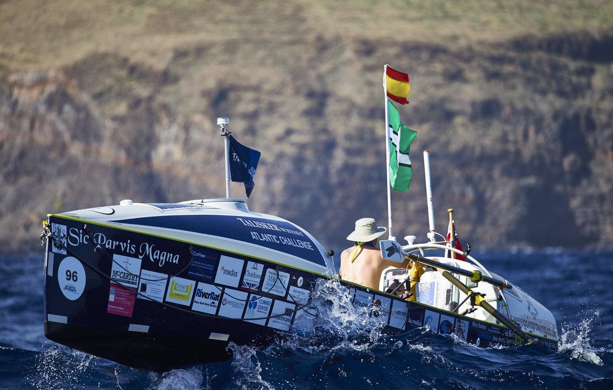 Atlantic Challenge - Martin Stengele und seine Sponsoren