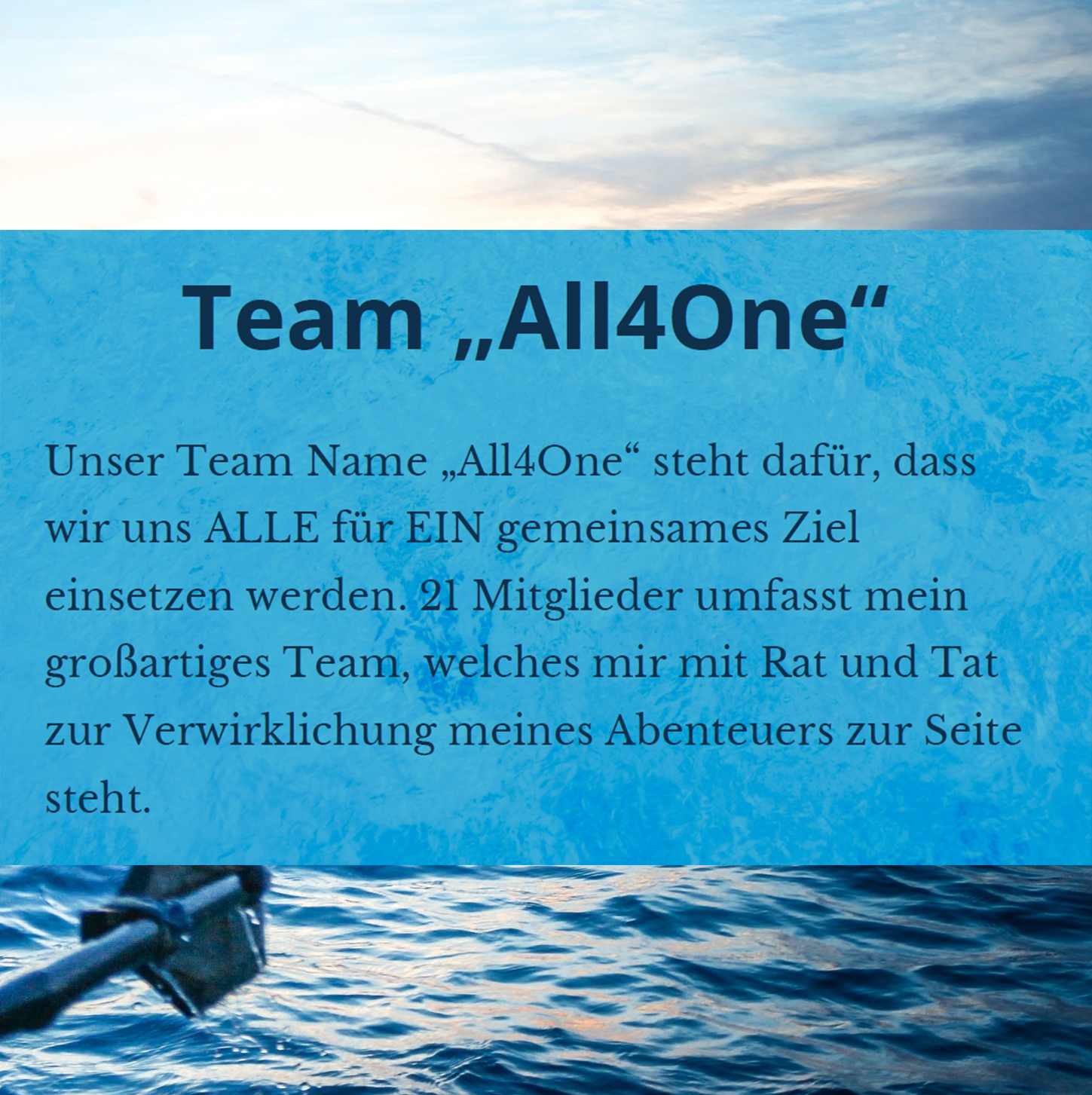 """Team """"All4One"""""""